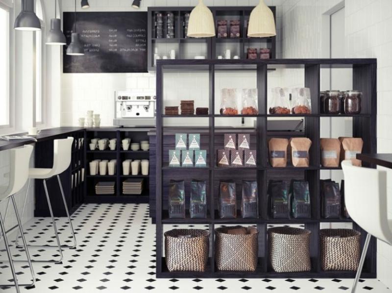 Regalsystem Raumteiler Küche