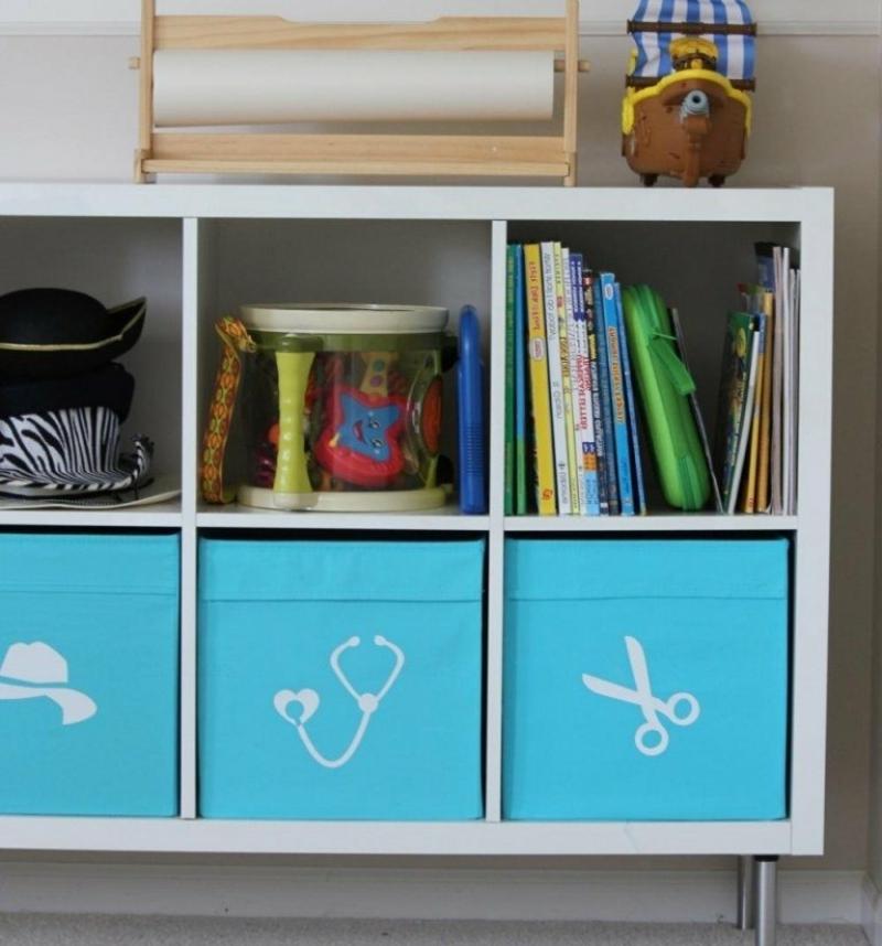 Kallax Planer tolles Regalsystem für das Kinderzimmer
