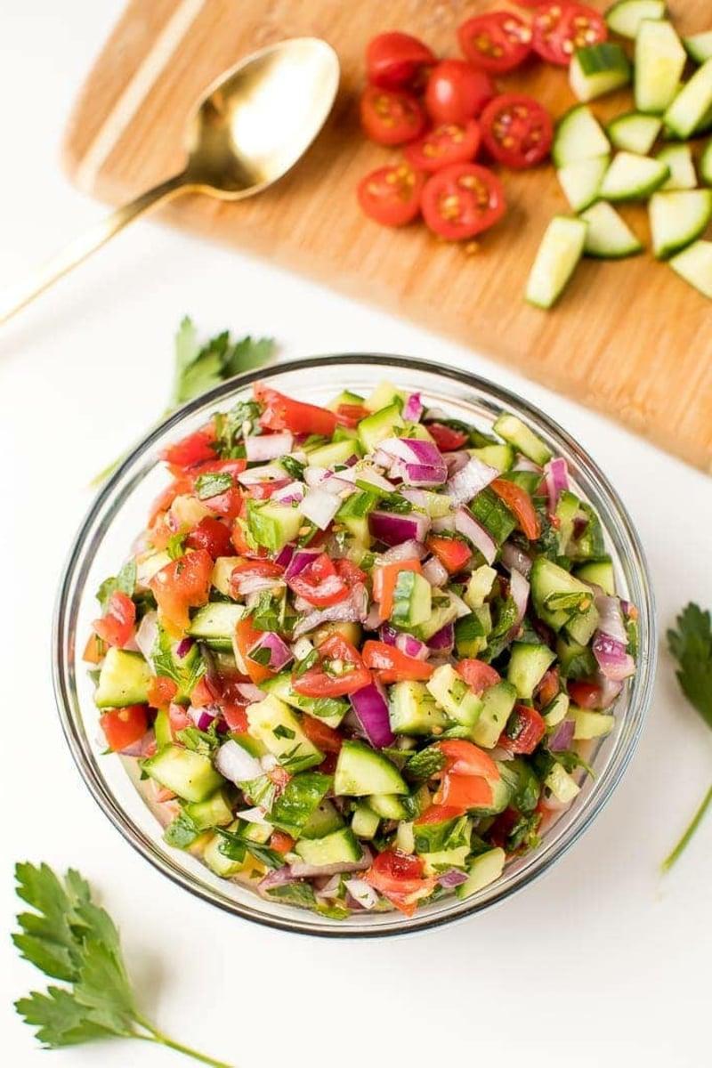 israelischer Salat selber zubereiten