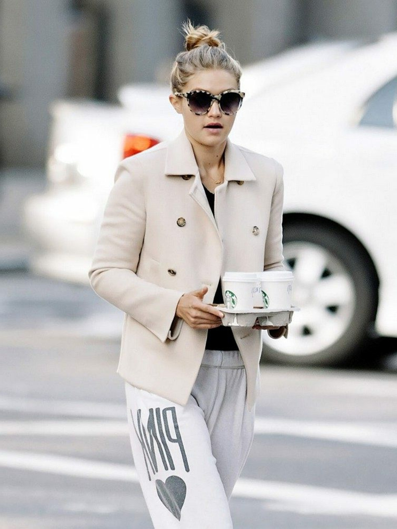 Jogginghose Outfit Gigi Hadid
