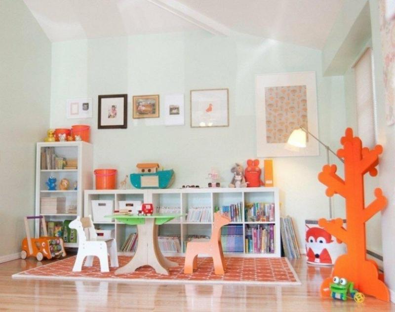 Stauraum für Kinderspielzeuge IKEA Regale