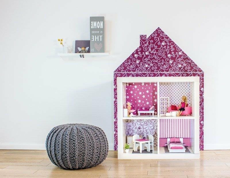 Puppenhaus selber machen IKEA Regale