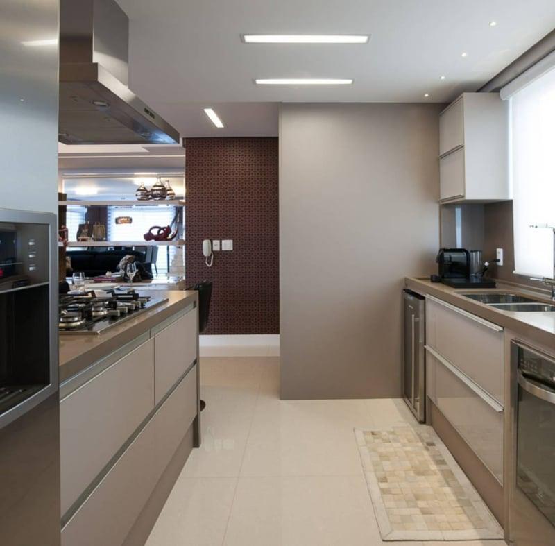 Küche modern minimalistisches Interieur
