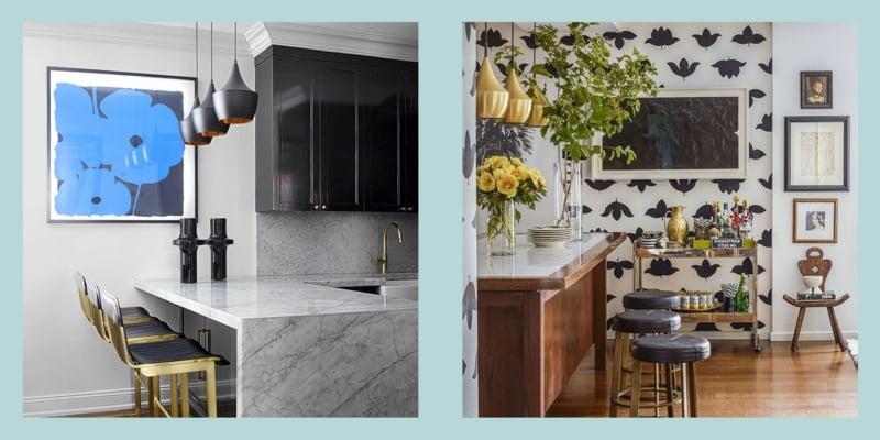 Küche dekorieren Tipps Ideen für kleine Räume