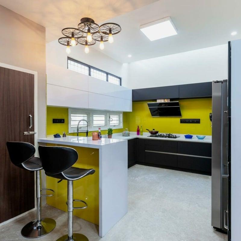 kleine Küche minimalistisch