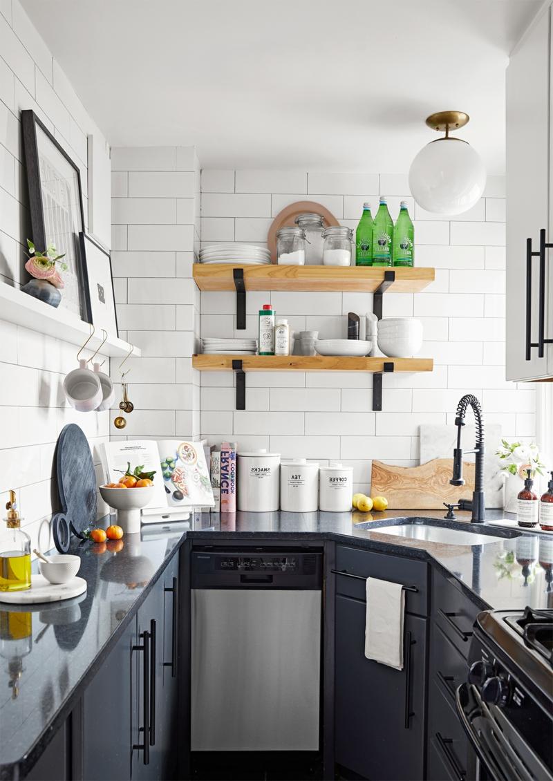 Küche dekorieren Tipps den Raum optisch vergrößern