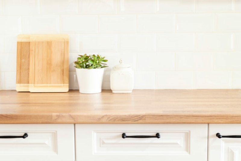 Küche dekorieren Tipps Pflanzen sind wichtig