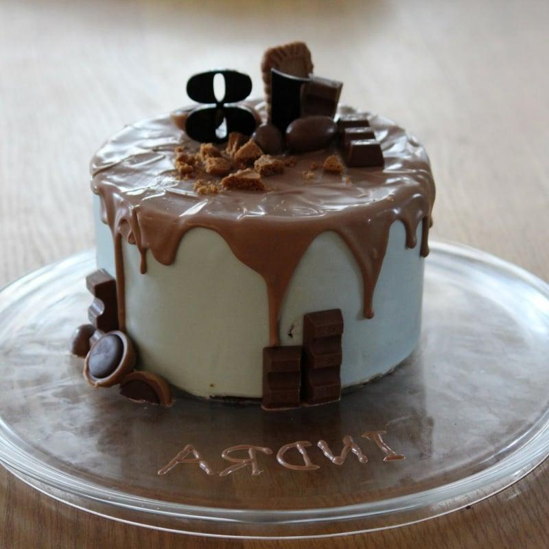 Torte 18. Geburtstag Schokoladentorte herrlicher Look