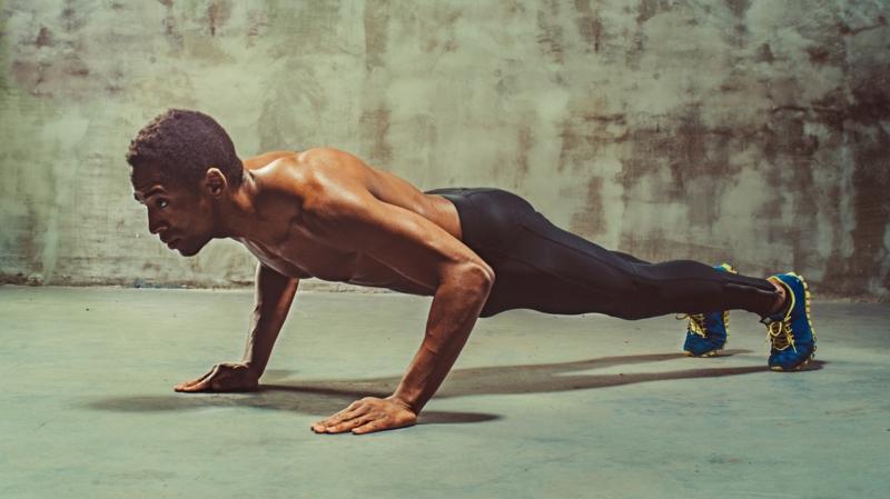 wirkungsvolle Übungen für die Arme Mann Liegestützen