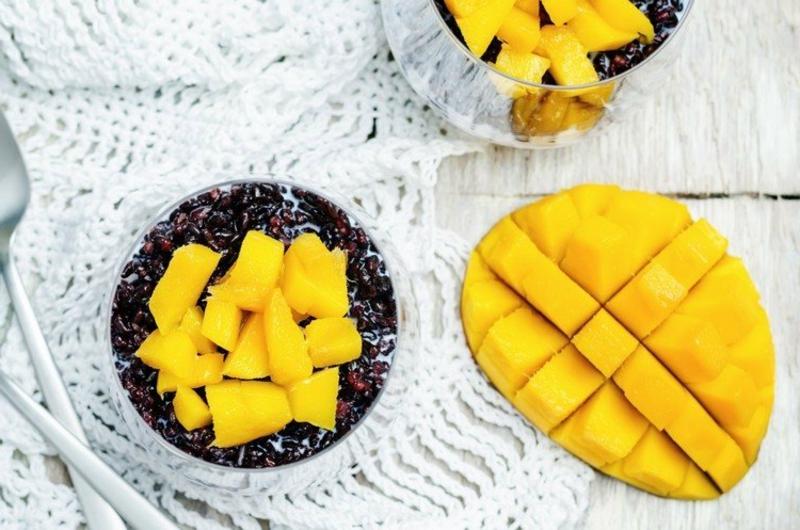 saftige tropische Früchte Mango