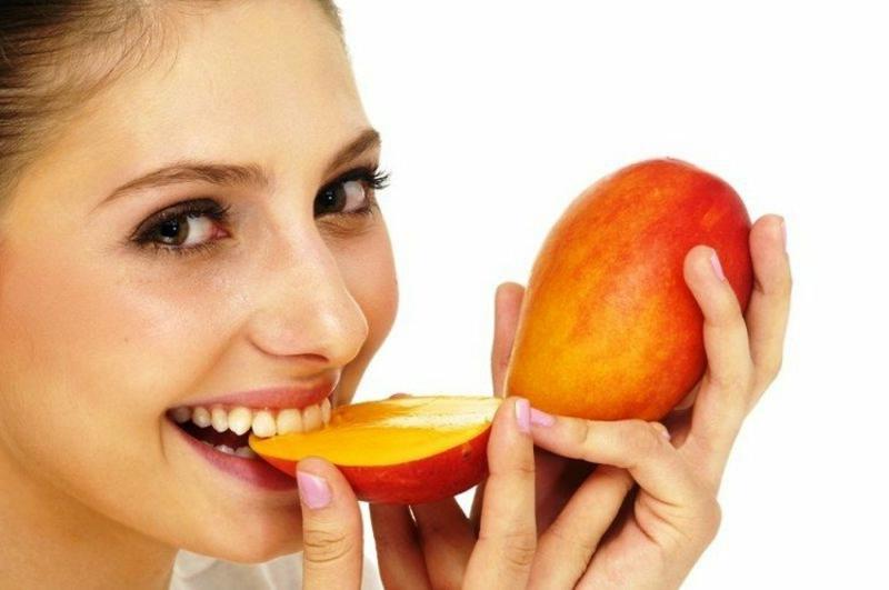 Mnago essen für gesunde Haut