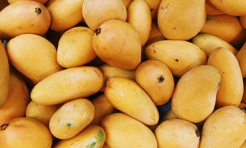 Mangos gelb reif