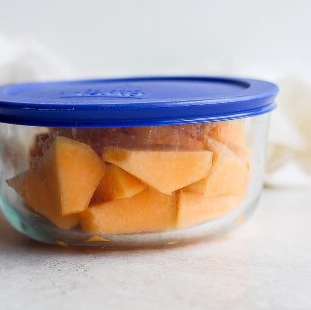 Melone im Kühlschrank aufbewahren