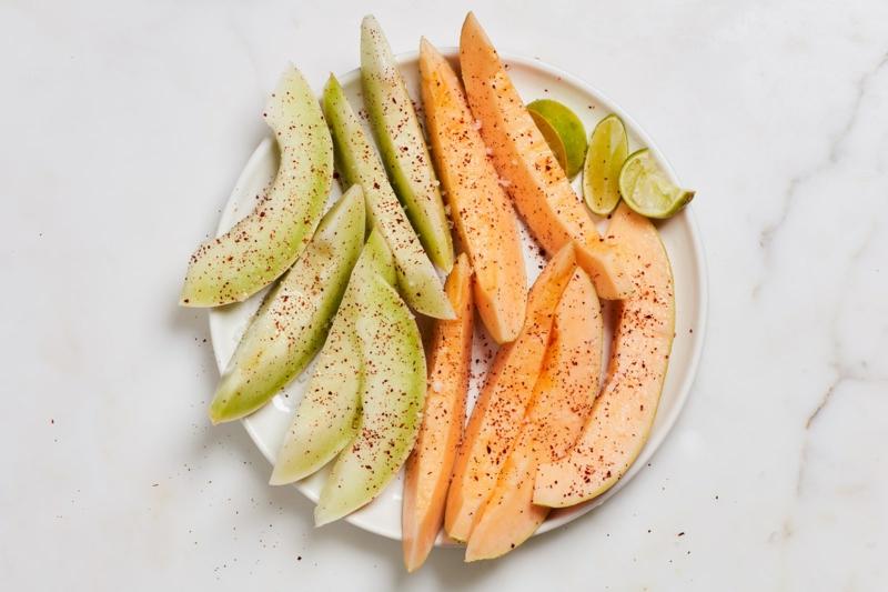Melone Serviervorschlag
