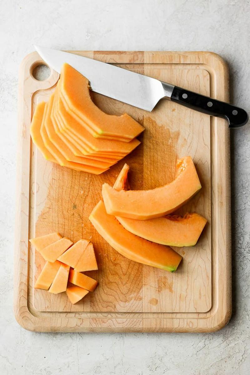 Melone schneiden leichte Methode