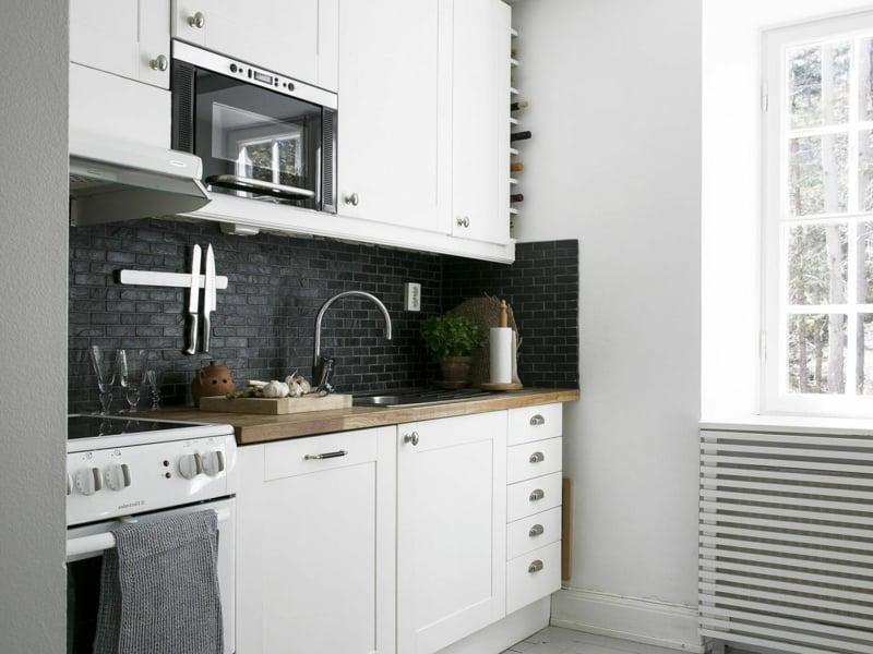 Küche dekorieren Tipps Farbschema auswählen