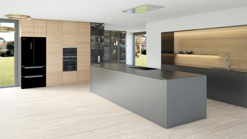 offener Wohnraum minimalistisch sehr modern