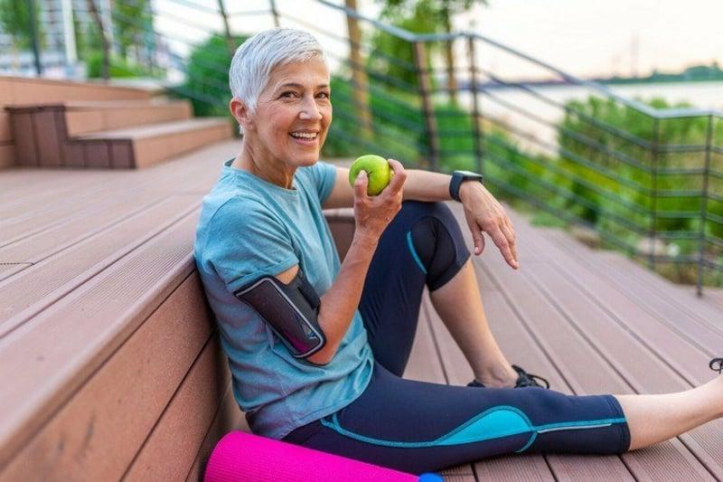 gesund bleiben im Alter