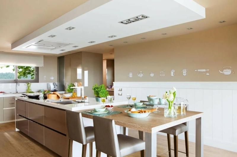 Farbe Cappuccino in Interieur richtig kombinieren