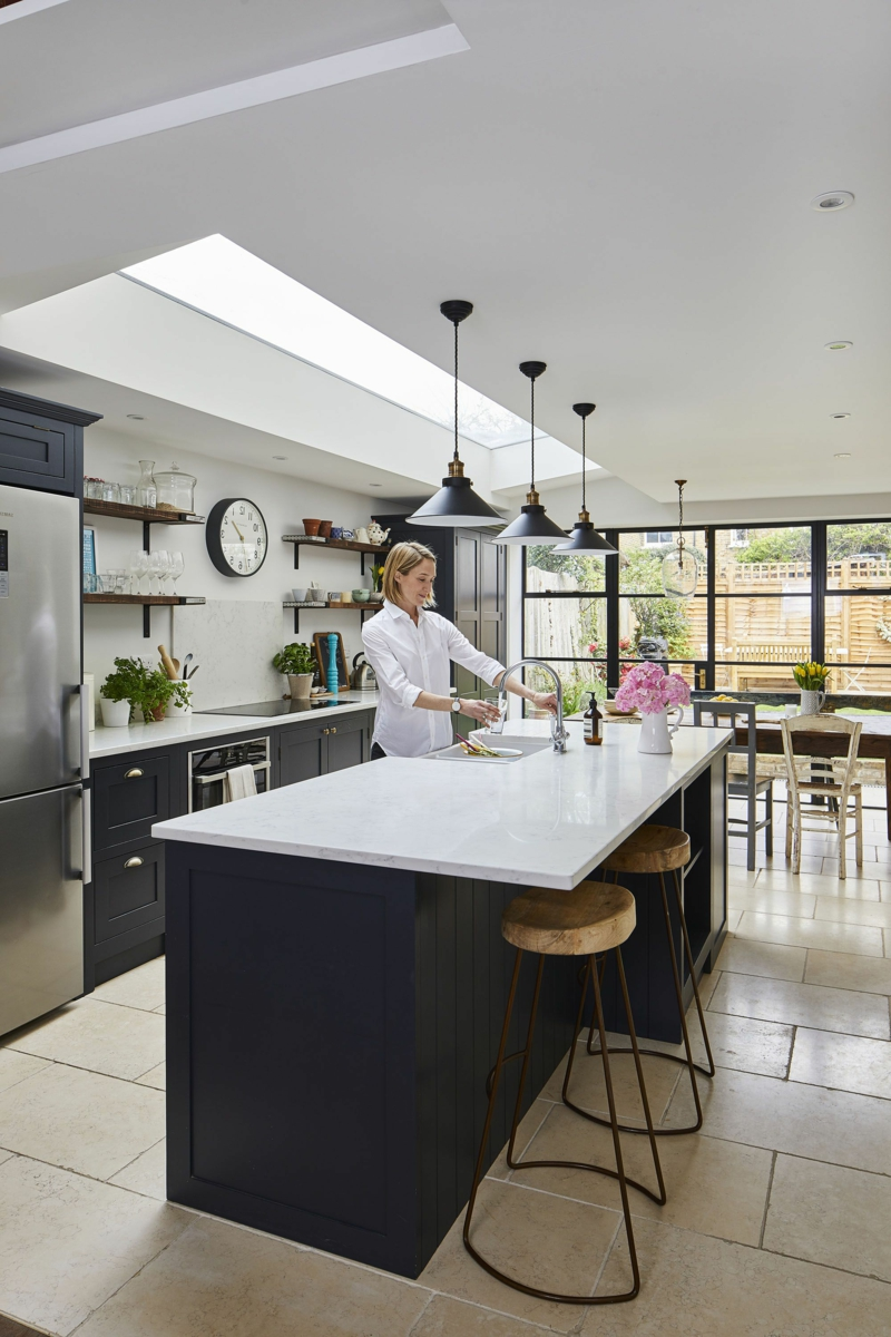 offene Küche modern und geräumig