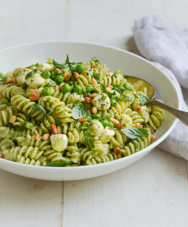 grüner Pasta Salat