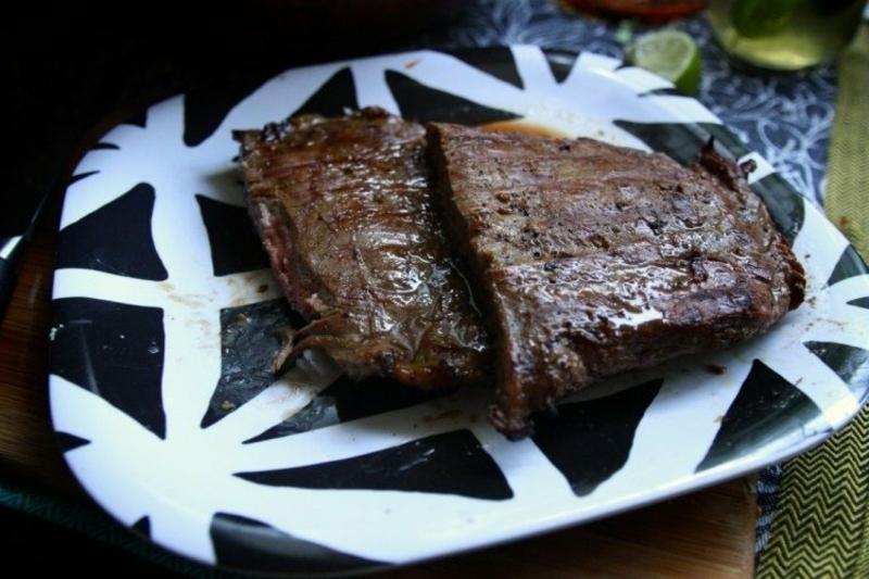 einfaches Essen für heiße Tage Rinderfilet