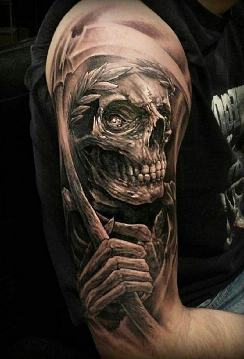 Totenkopf Tattoo Designs