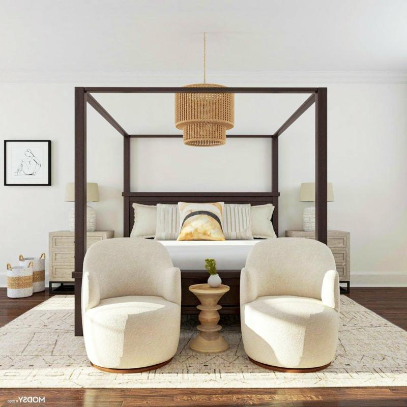 Schlafzimmer gestalten Naturmaterialien