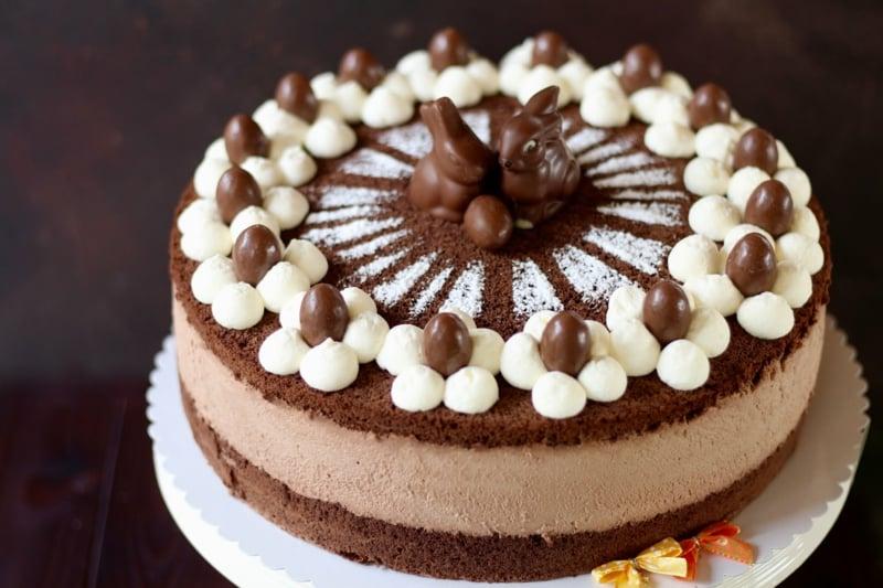 Schokoladentorte mit Buttercreme Geburtstag