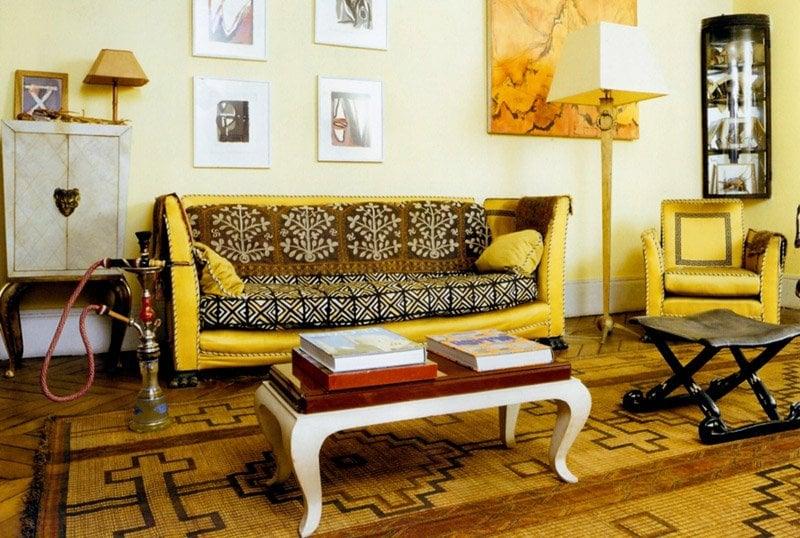 Wohnzimmer orientalische Möbel