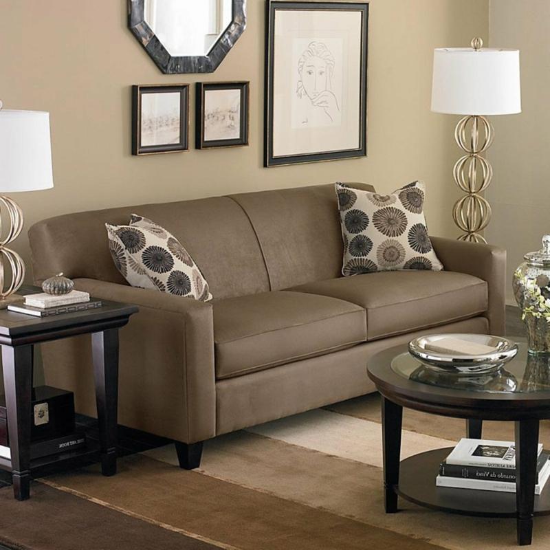 Farbe Cappuccino Wohnzimmer Sofa