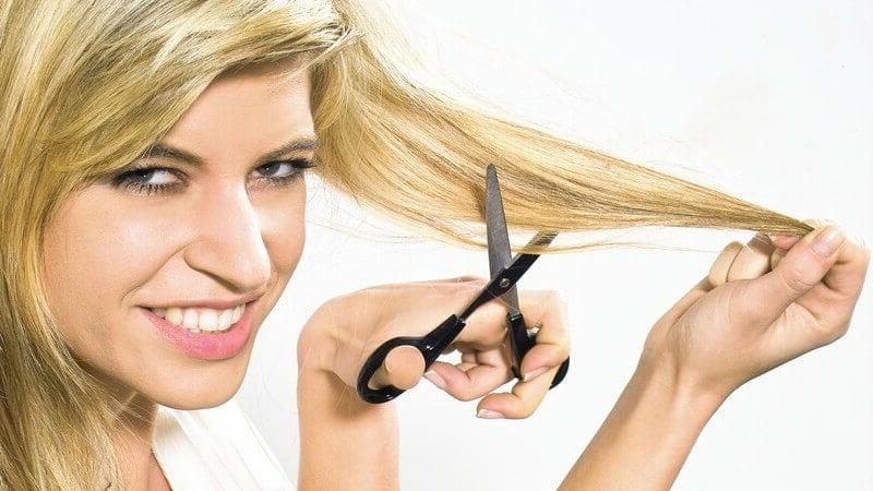 Haarkur gegen Spliss ohne Schneiden der Haare