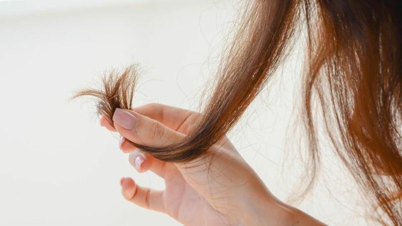 Haarkur gegen Spliss mit Olivenöl