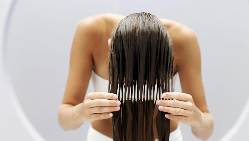 Haarmaske selber machen Haarbruch