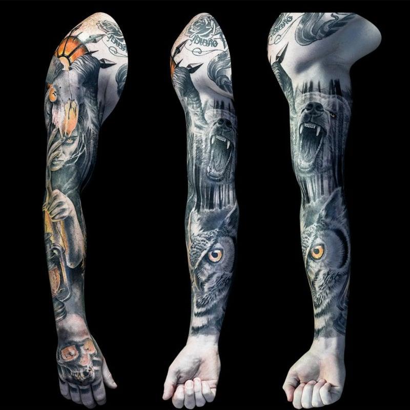 Sleeve Tattoo Ideen für Männer