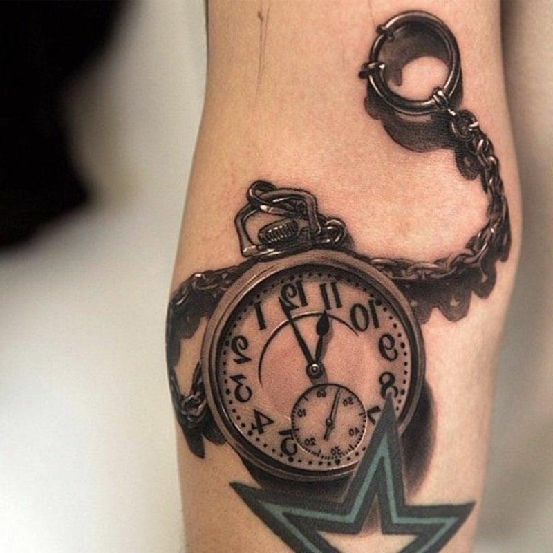 3D Tattoos Uhr Bedeutung