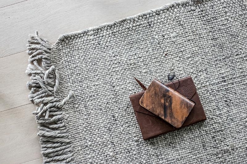 Naturstoffe im Interieur Teppich