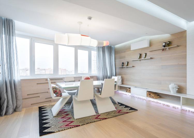 Esszimmer Designer-Stühle in Weiß