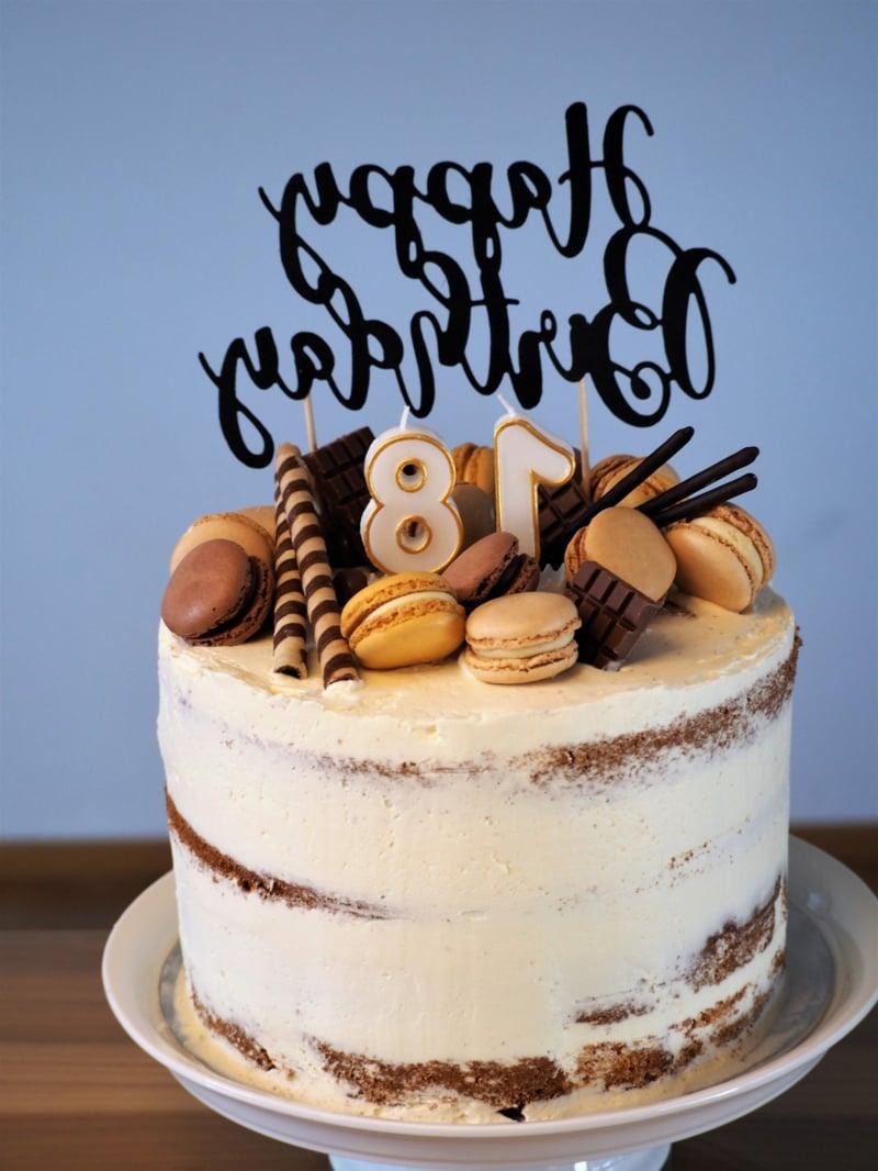 Naked Cake zum Geburtstag