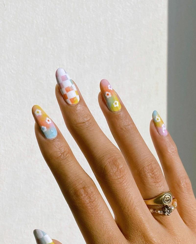 Pastellnägel wunderschöne Designideen