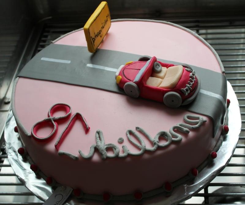 Torte 18. Geburtstag für Junge