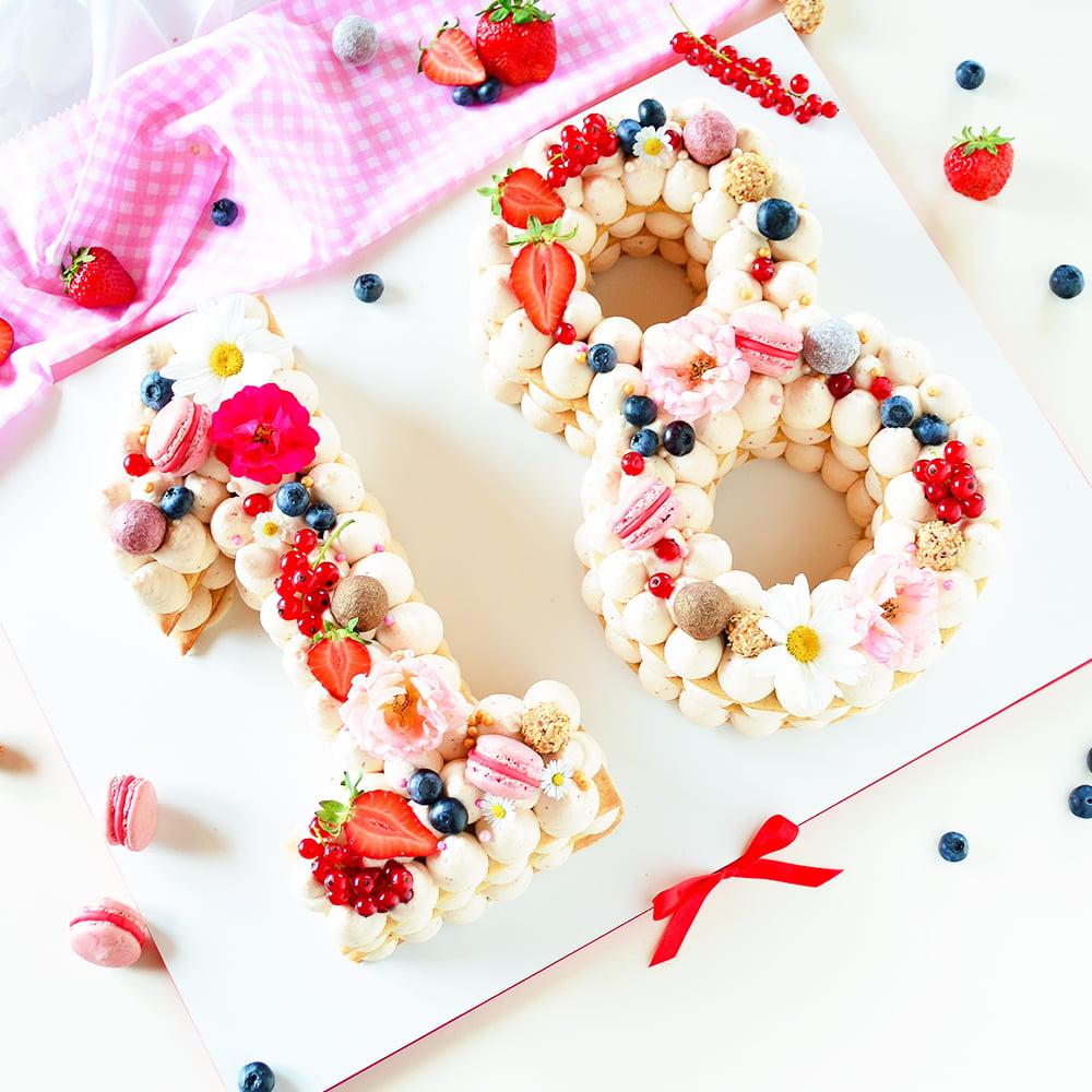 Torte 18. Geburtstag kreative Ideen