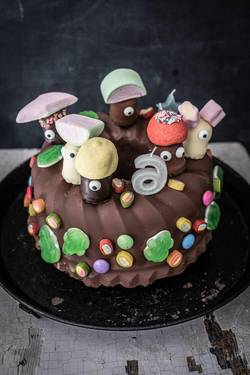 lustige Torte Kindergeburtstag