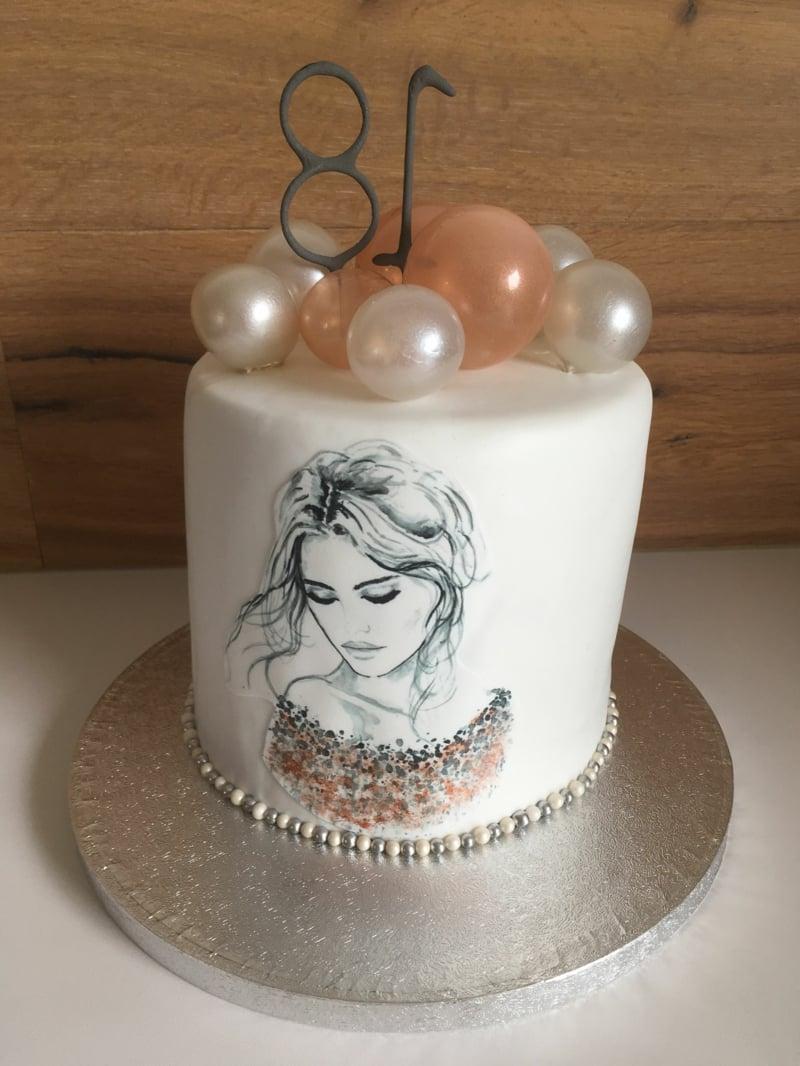 Torte 18. Geburtstag Mädchen