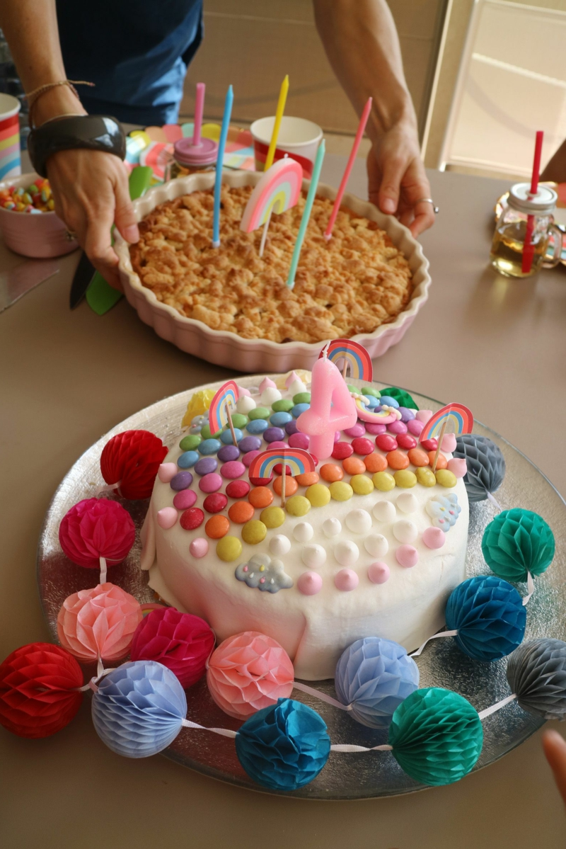 Torte verzieren Kindergeburtstag