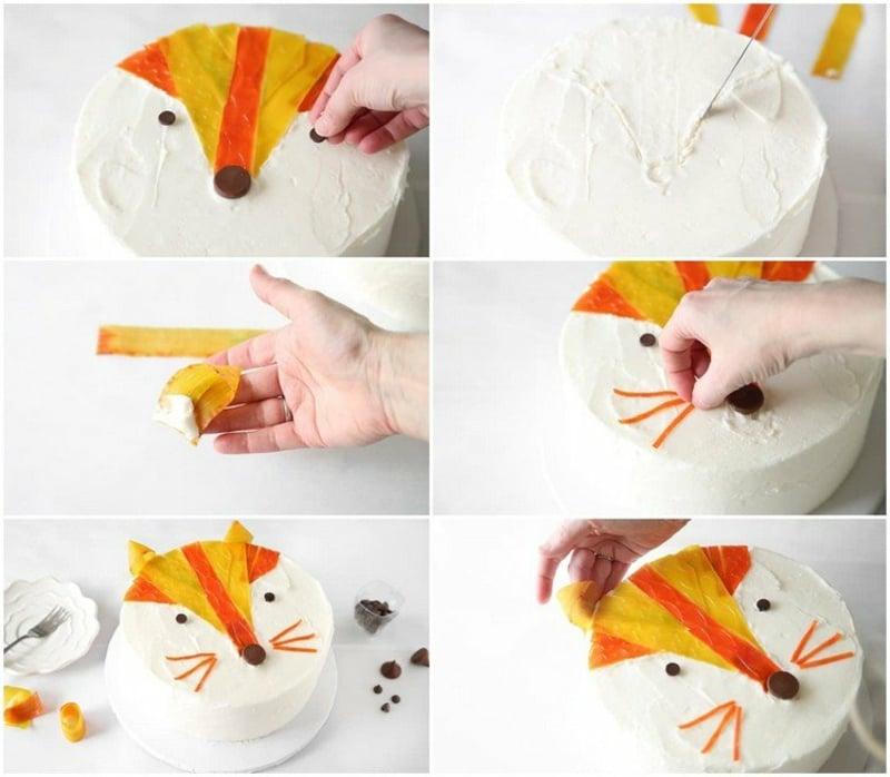 Kindergeburtstag Torte dekorieren