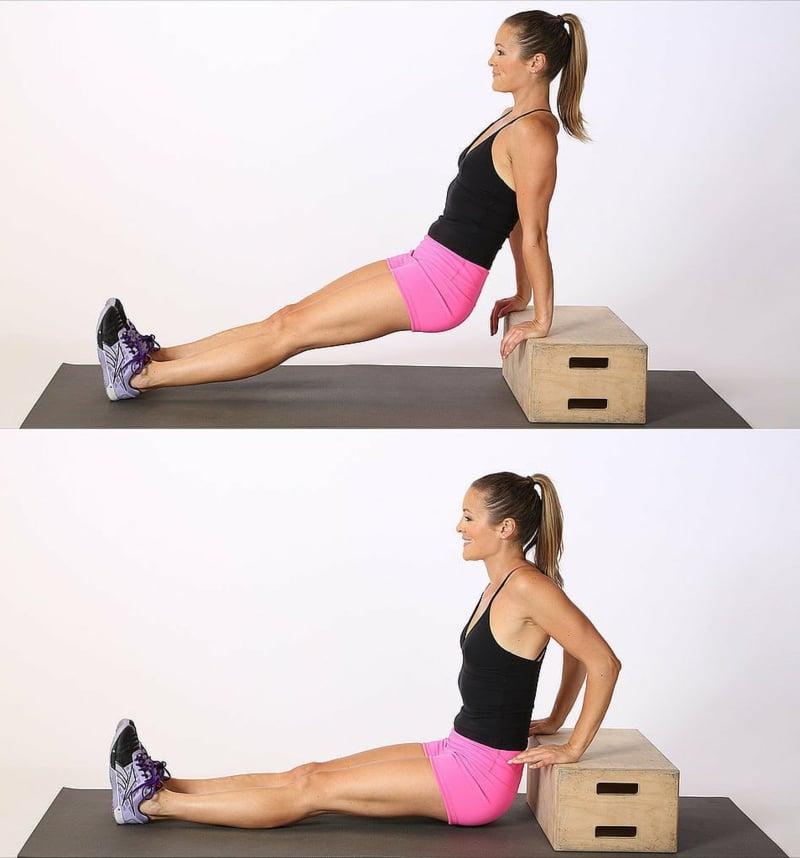 Trizeps Training für Frauen für schlanke Arme