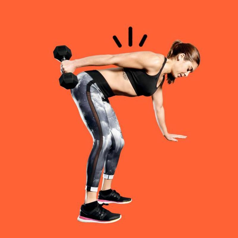 Trizeps trainieren mit Kurzhantel