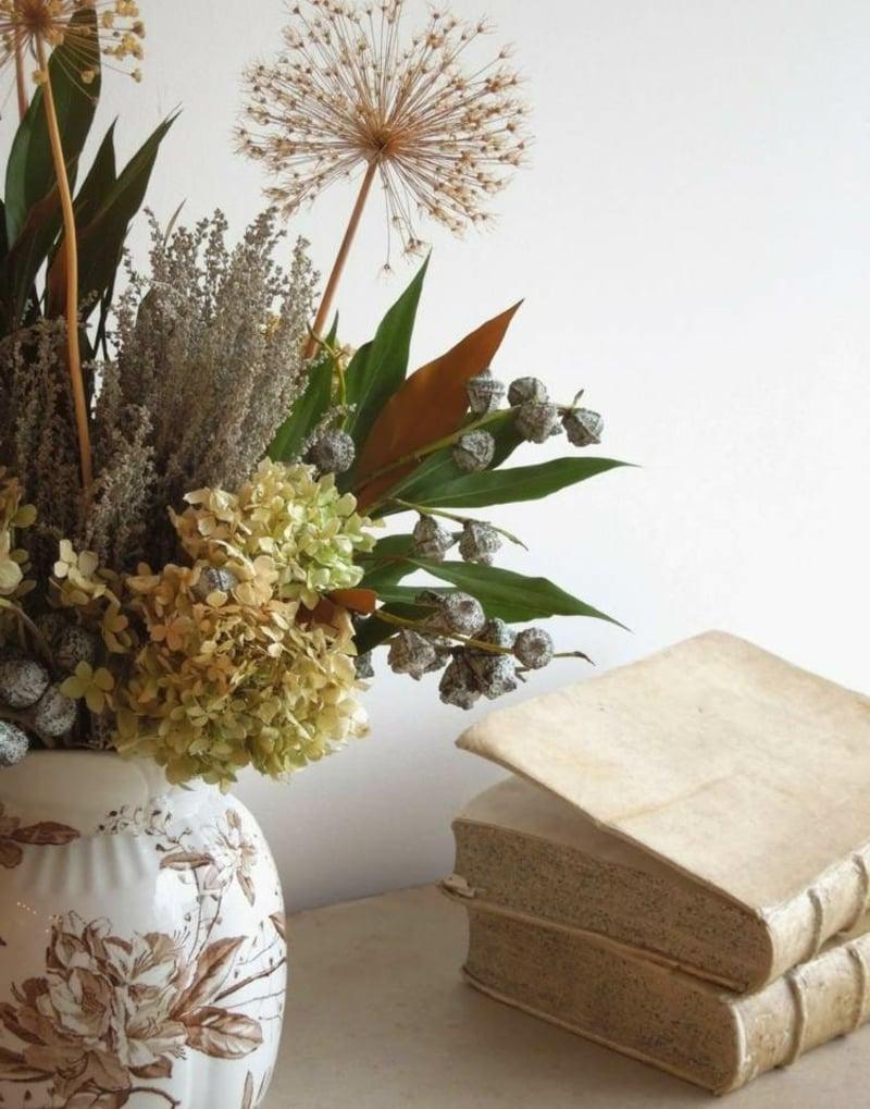 Trockenblumen selber machen und arrangieren