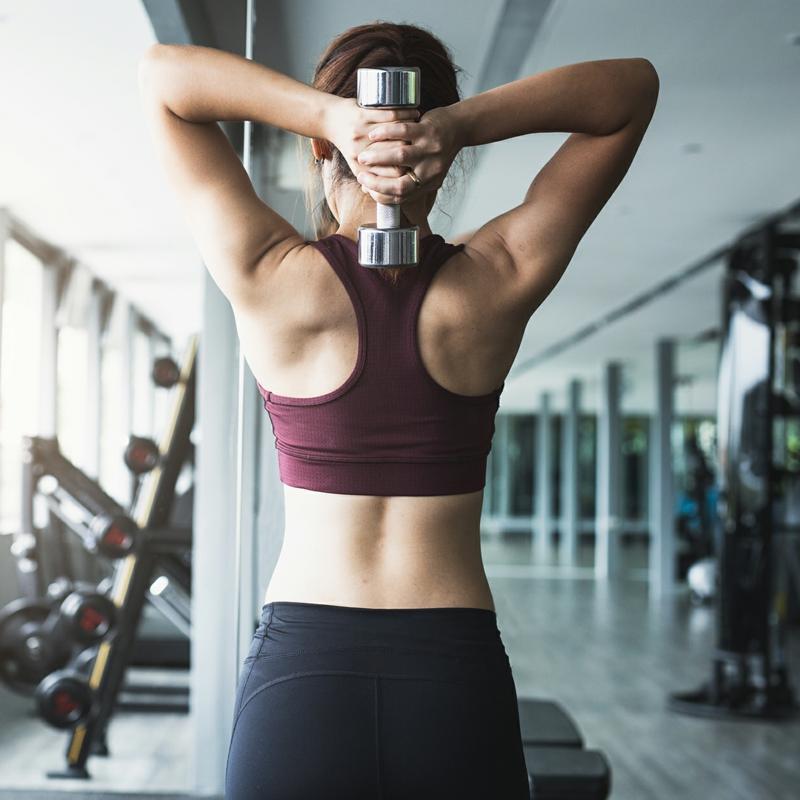Trizeps Training für Frauen